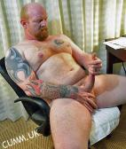 inked sexy ginger man