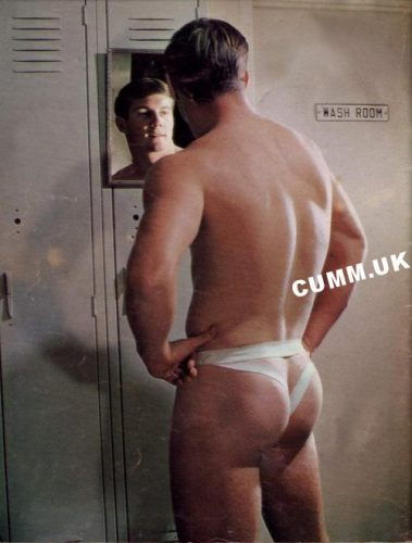jock vintage 21big manly arse at wash room