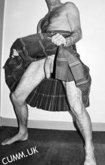 kilt hung scottish cock