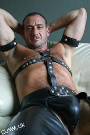 leather daddy horny