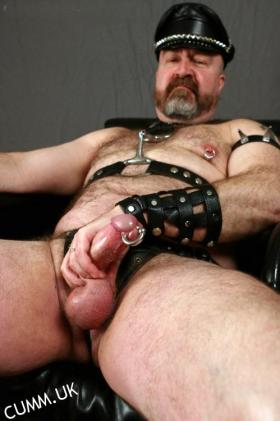 leather daddy prince albert large