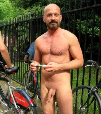 london naked bike sexy bear