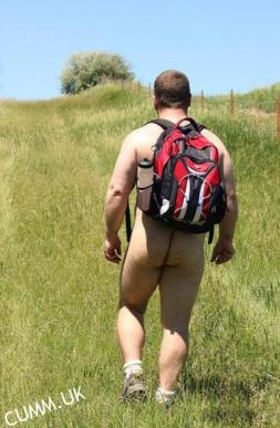 male naked trail