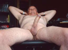 mature silver daddy big cock