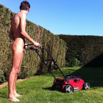 naked lawn mower