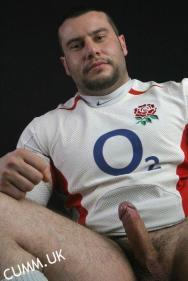 rugby wanking after match