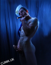 sailor smoking wanking