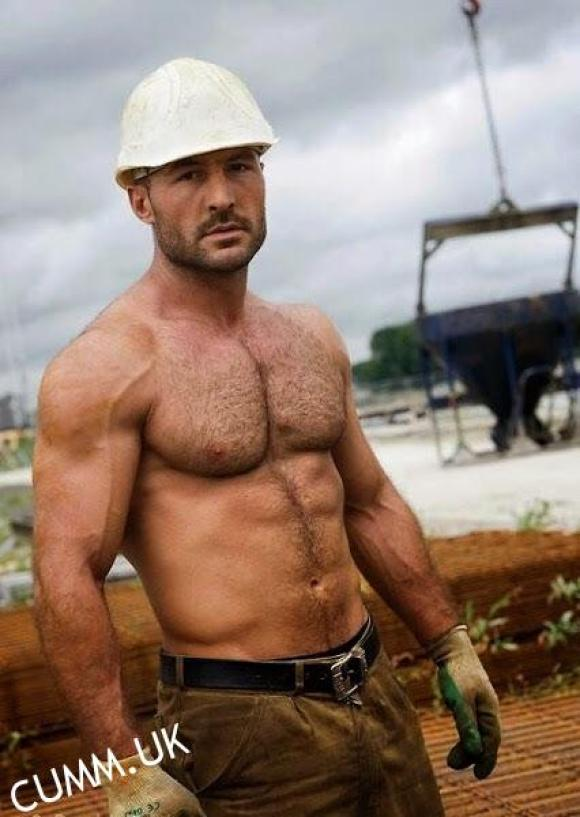 sexy workman naked