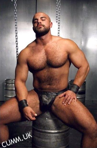 the man with the sexy eyes leather daddy