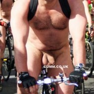thick cock london naked bike ride
