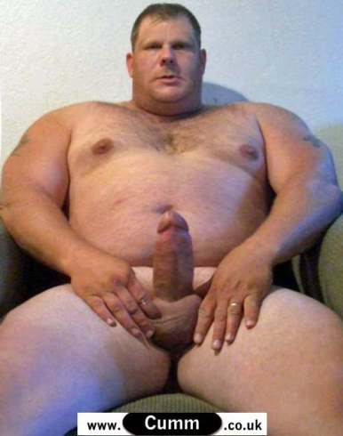 thick dick big man