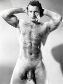vintage hairy bodybuilder