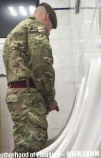 worship british army cock