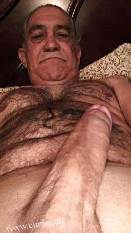 older viagra silver daddy hairy hung