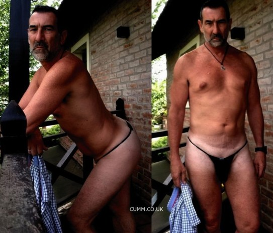 gise daddy thong black