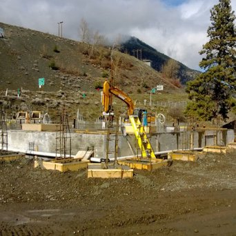 Lilooet Water Treatment Plant Construction