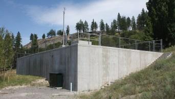Sendero Canyon reservoir
