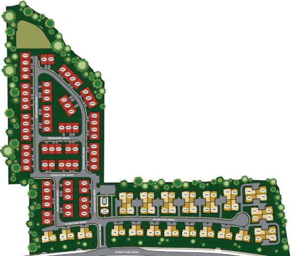 Stoney Point Neighborhood Site Plan