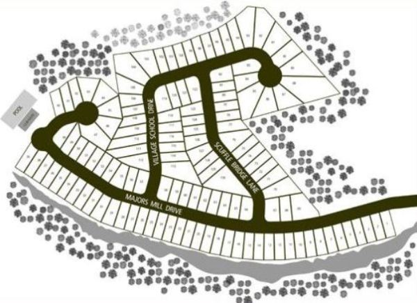 Site Plan Cumming GA Neighborhood