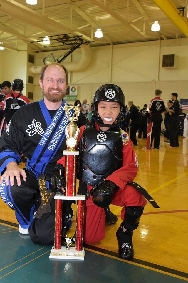 Instructor RJ LoPresti at Choe's HapKiDo Cumming