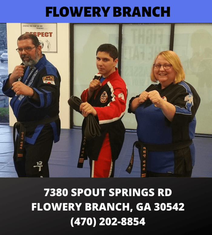 HapKiDo Locations Flowery Branch