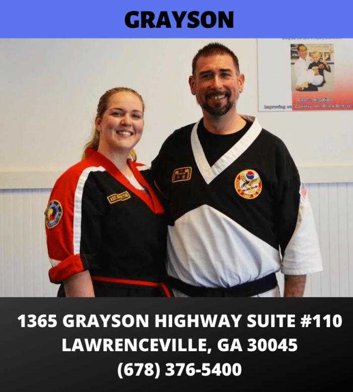 Grayson GA Martial Arts