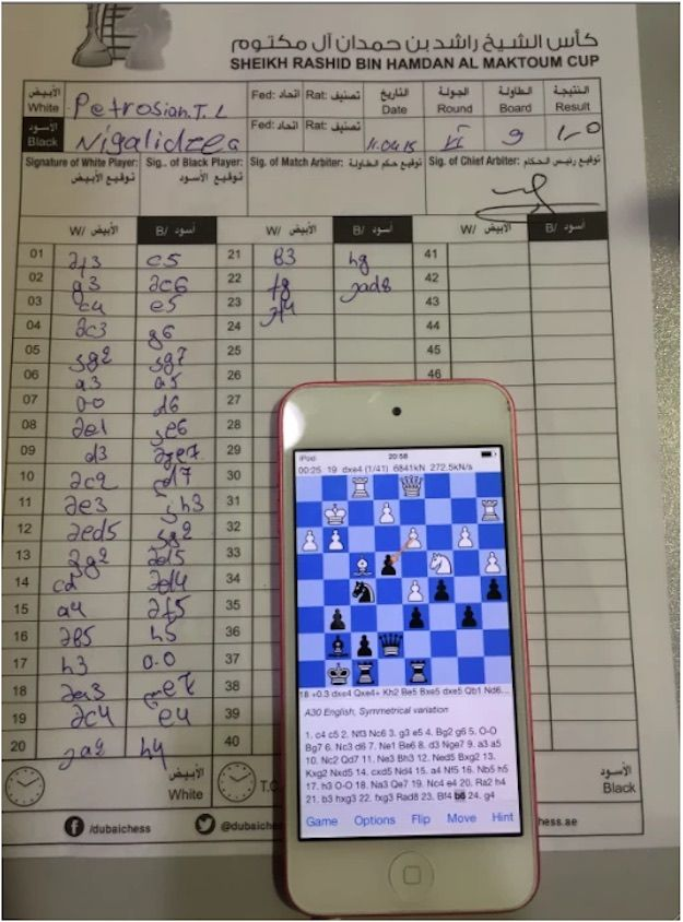 Cheating in Chess? - Cumnor Chess Club, Oxford
