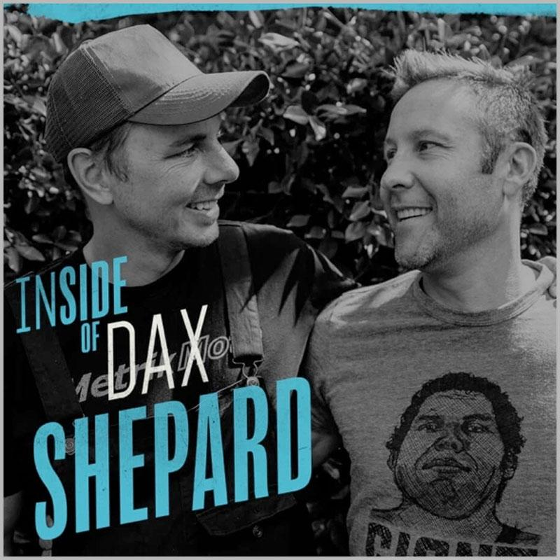 """DAX SHEPARD JOINS MICHAEL ROSENBAUM ON TODAY'S EPISODE OF """"INSIDE OF YOU"""" PODCAST"""