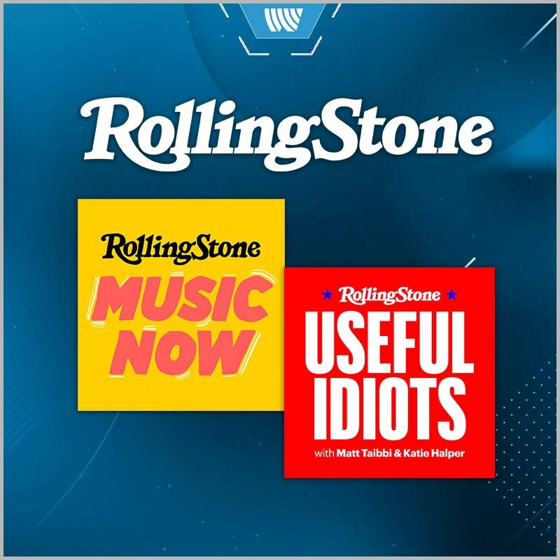 WESTWOOD ONE PARTNERS WITH ROLLING STONE FOR PODCASTS