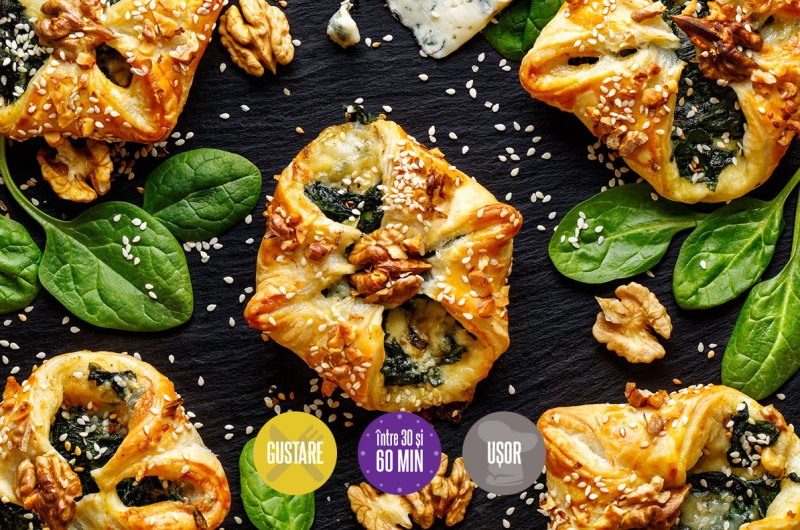 pateuri cu brânză gorgonzola