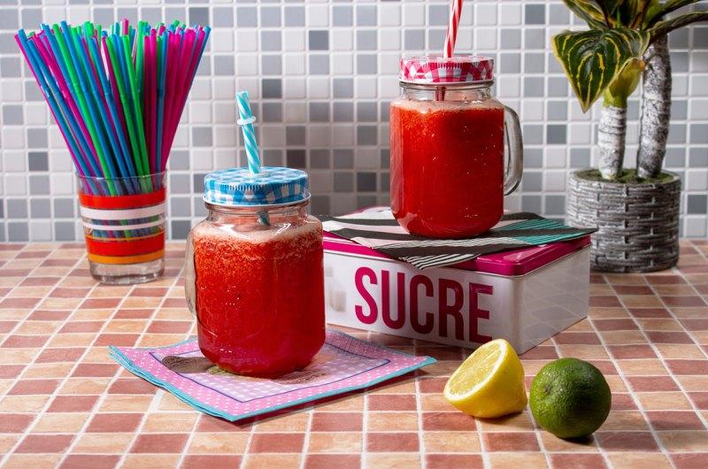 limonadă cu căpșuni