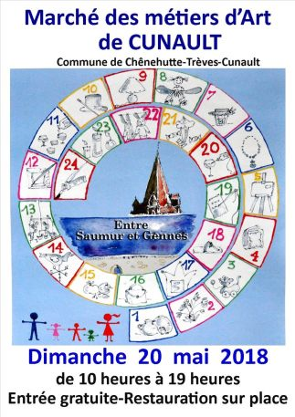 14ème Marché des Métiers d'Art de Cunault