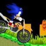 Sonic đua xe đêm Halloween