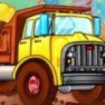 Xe tải chở kẹo
