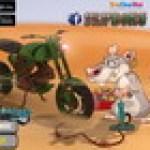Chuột lái xe vượt địa hình