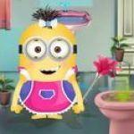 Minion sửa chữa nhà tắm