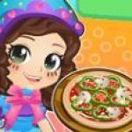 Công chúa Ori làm bánh Pizza