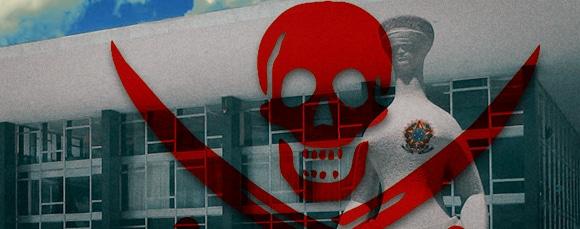 Poder Público também é vítima da pirataria