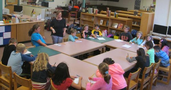 Cunniff Kids Art Teacher Meyer Makes