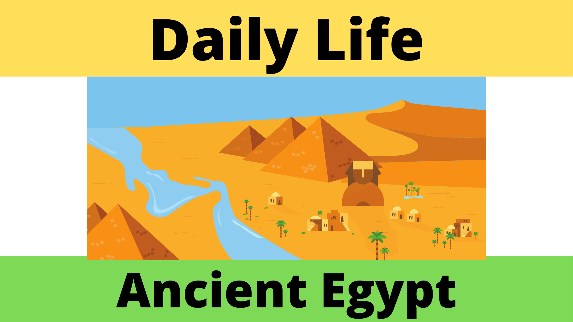 Daily Life Of Men And Women In Ancient Egypt Worksheet