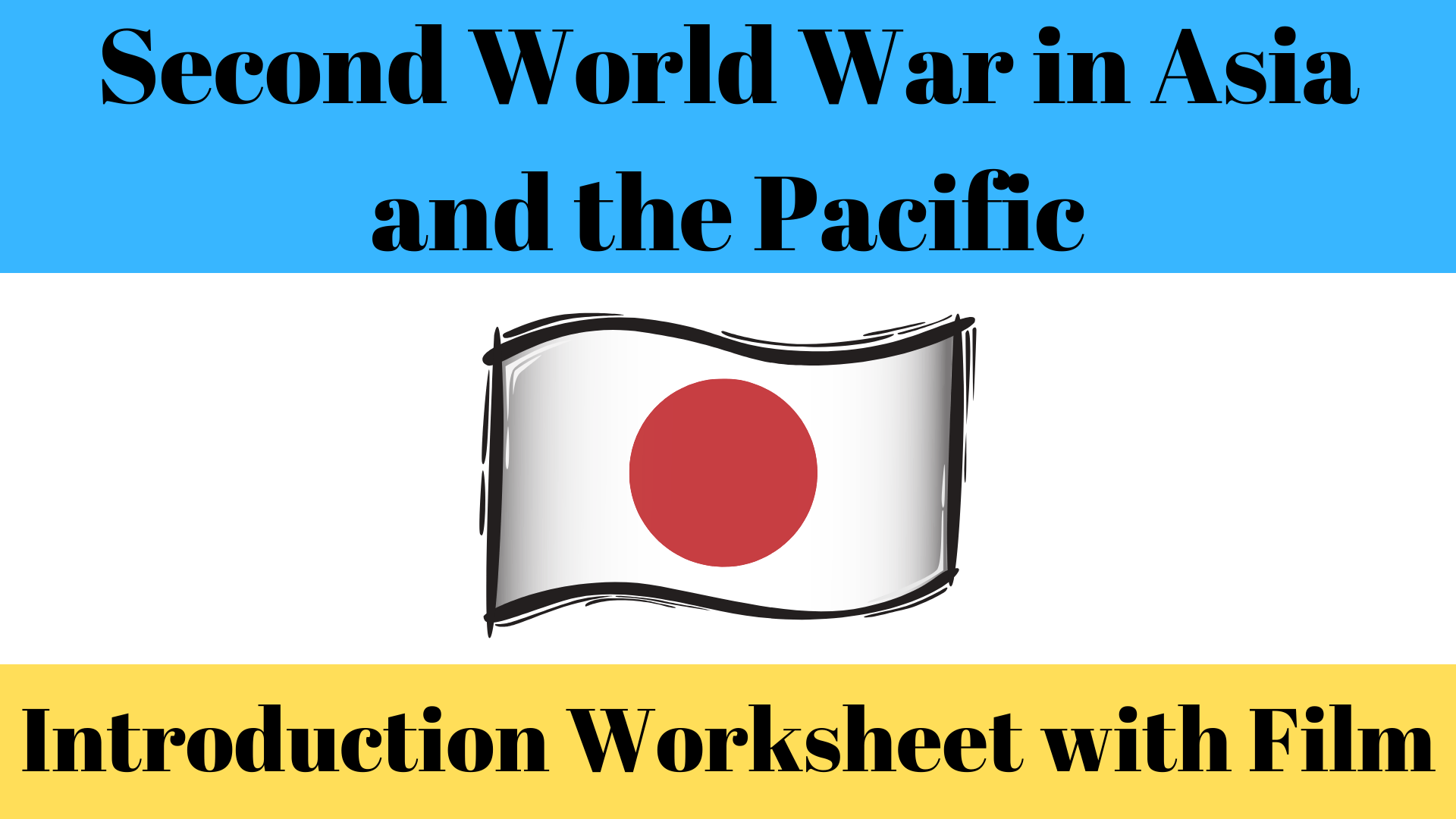 Introduction To The Second World War In The Pacific Region
