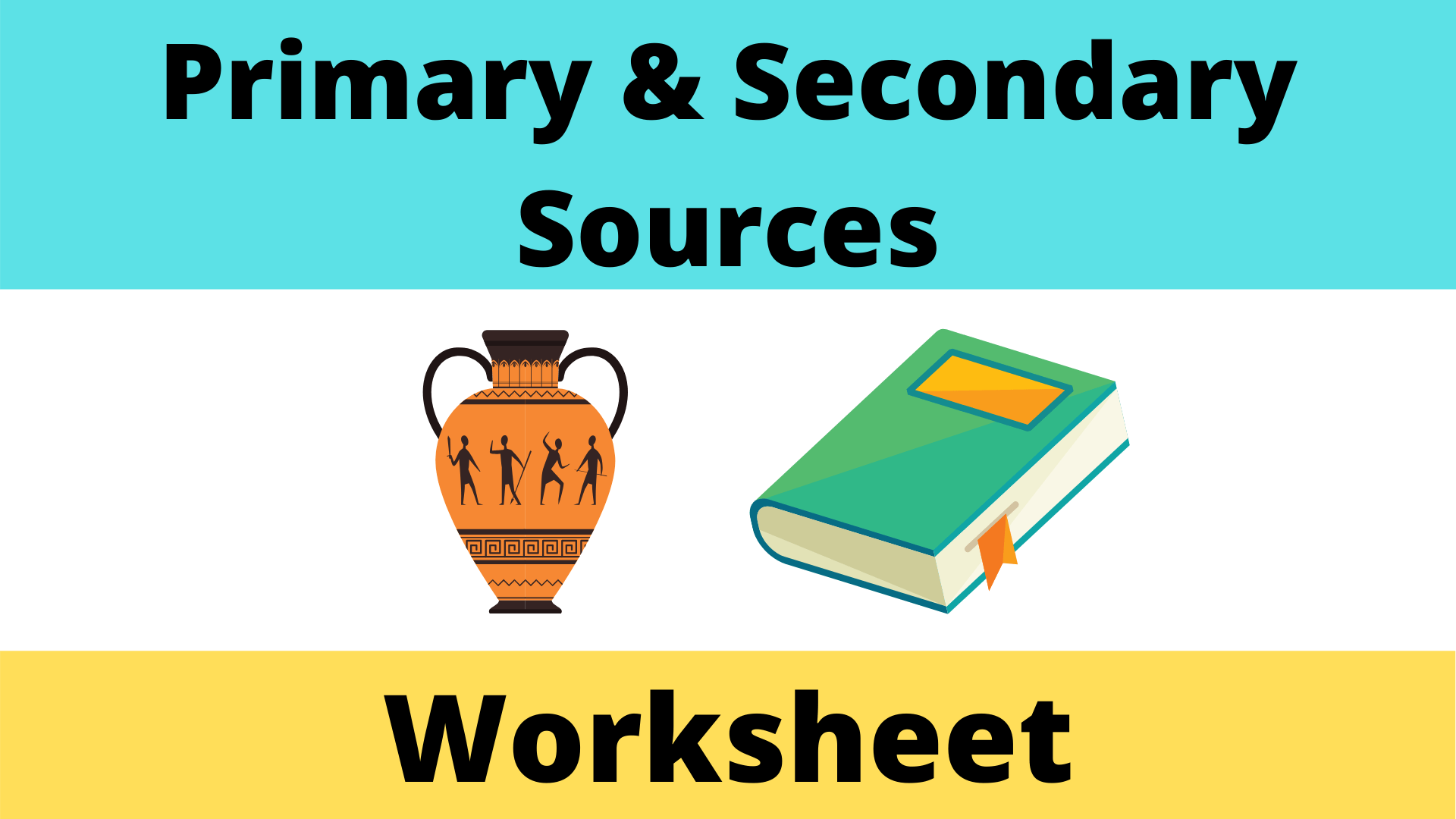 Primary And Secondary Source Worksheet