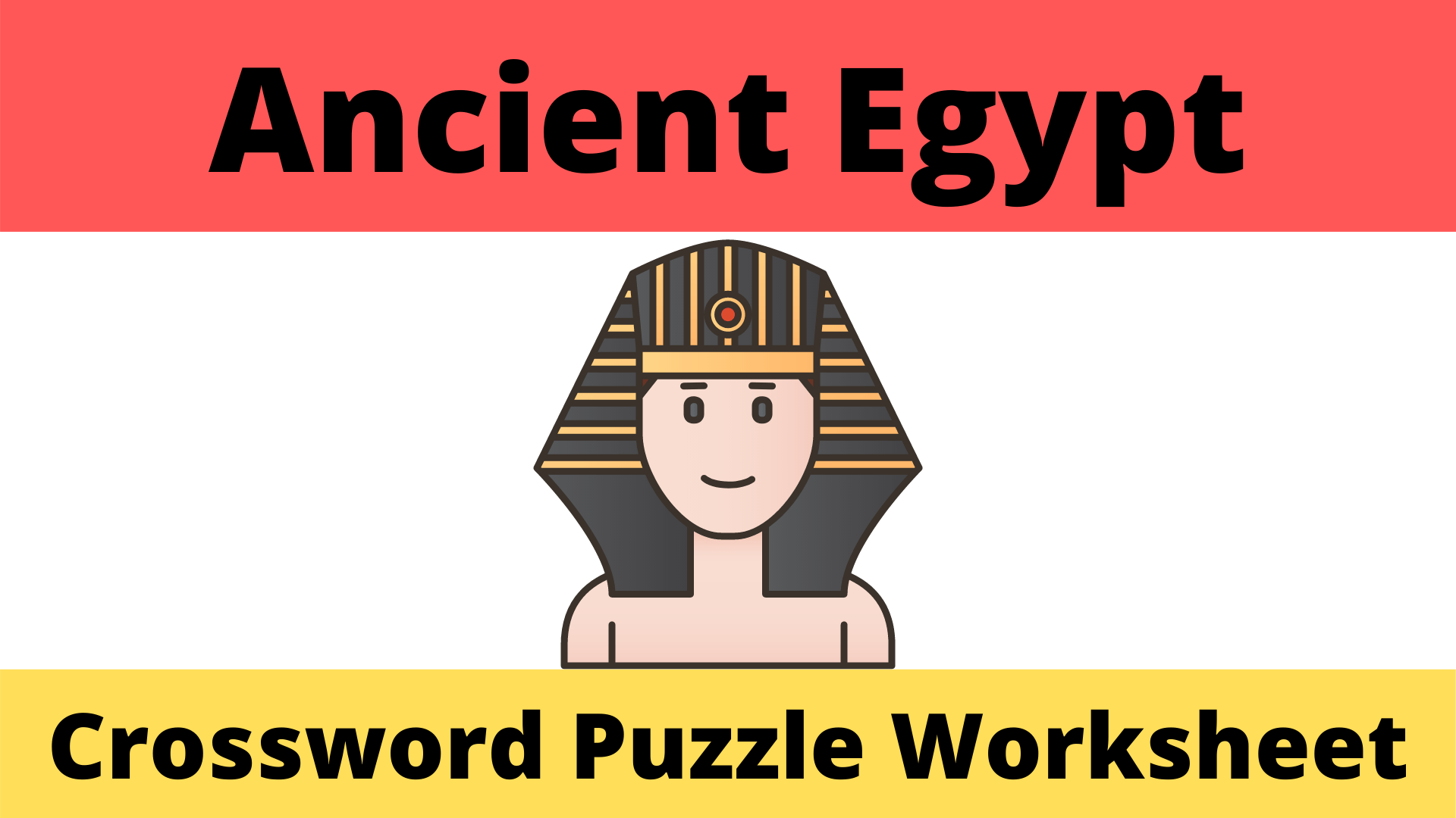 Ancient Egypt Crossword Worksheet