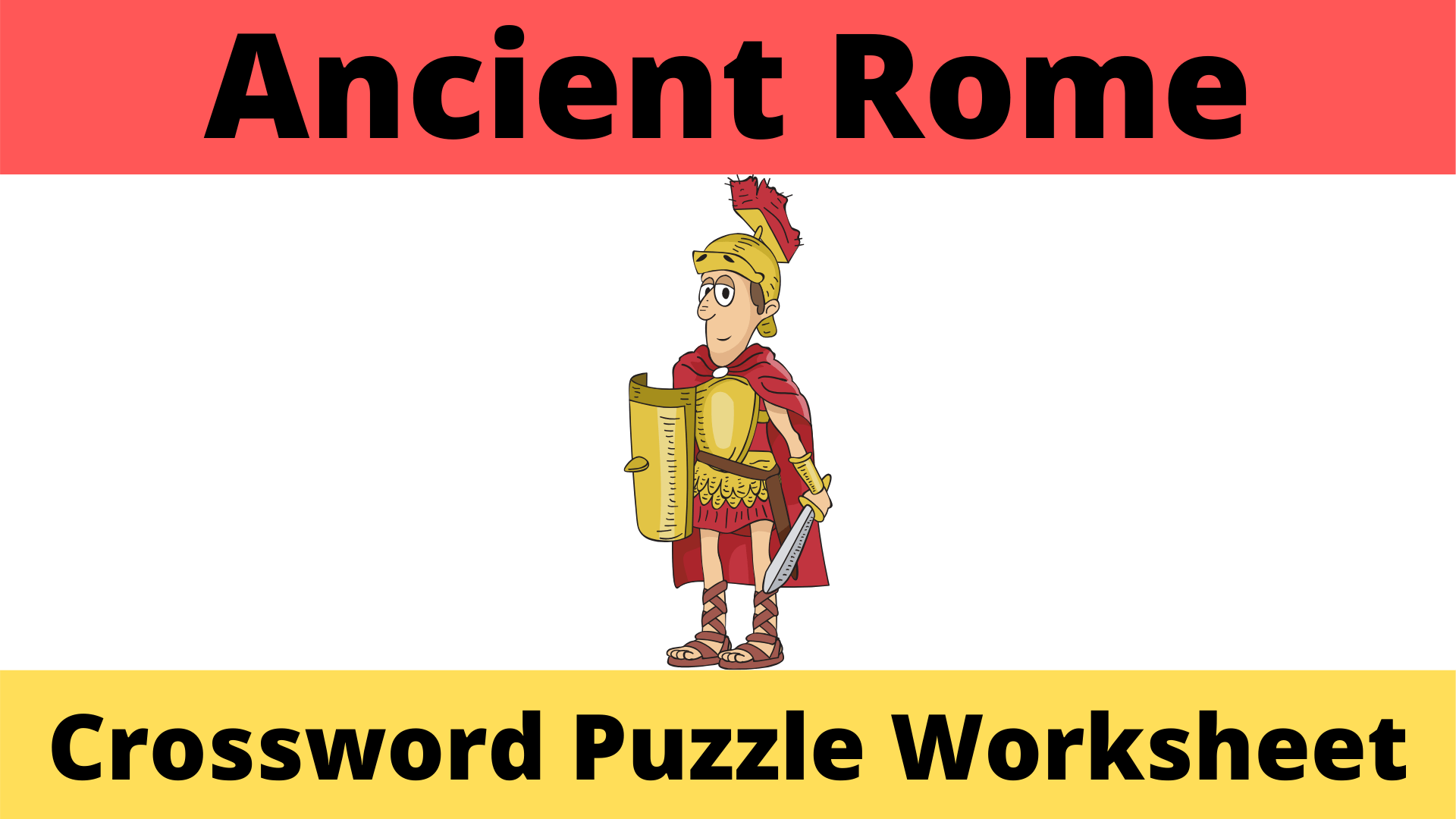 Ancient Rome Crossword Puzzle