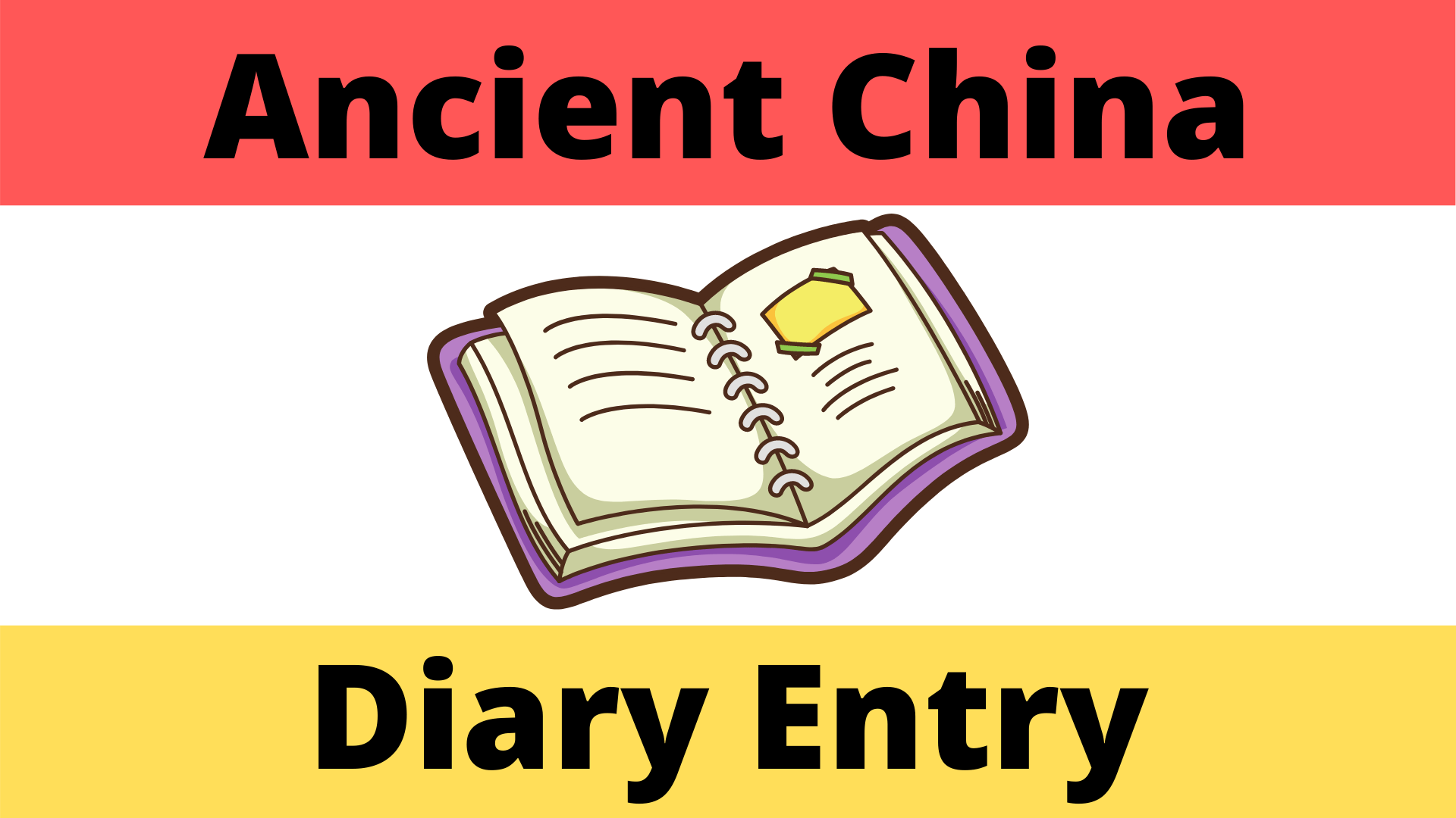 Ancient China Diary Entry Student Worksheet