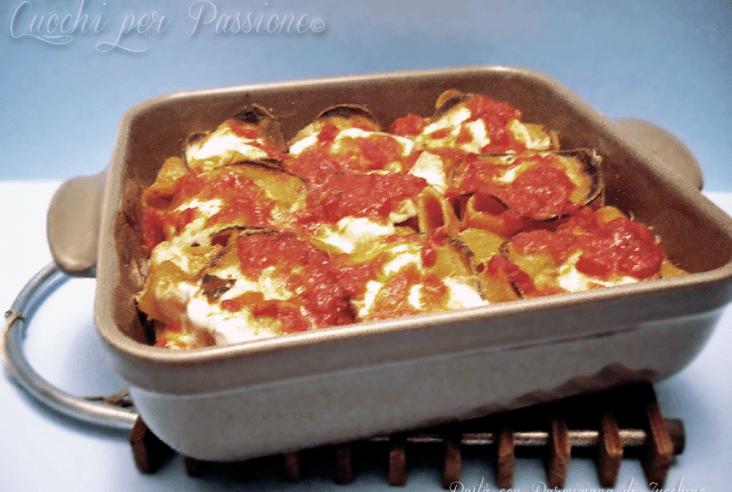 Pasta con Parmigiana di Zucchine