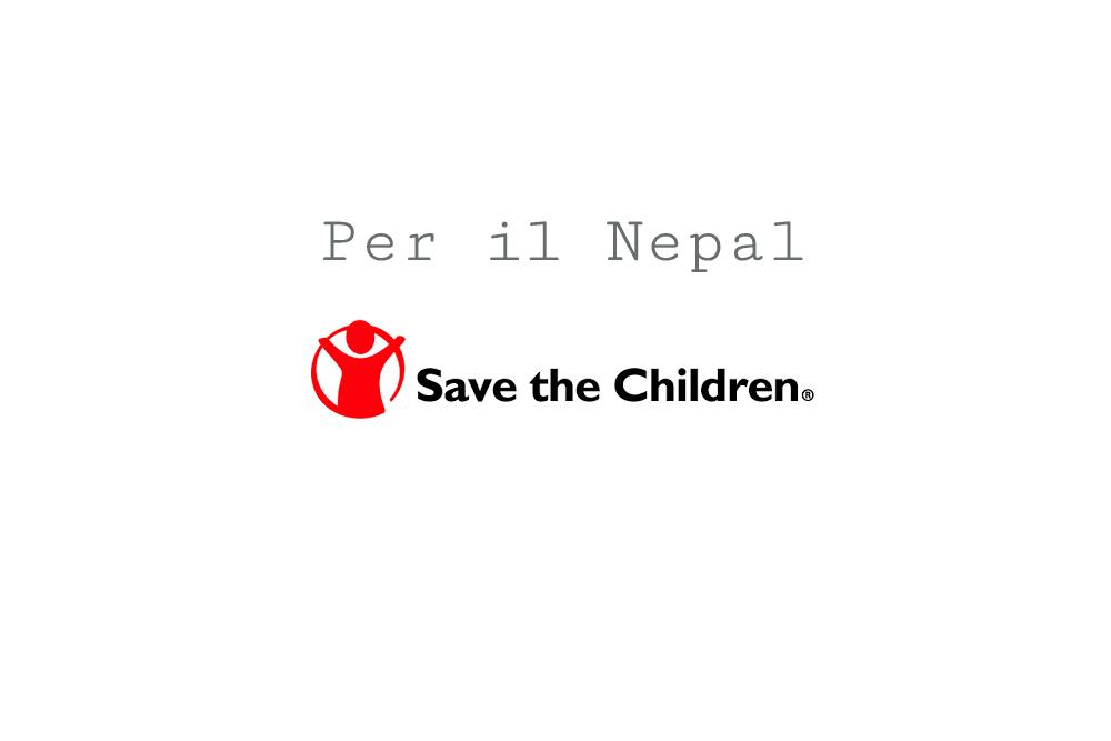 Save the children per il Nepal