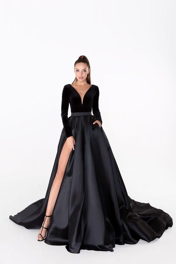 áo cưới màu đen