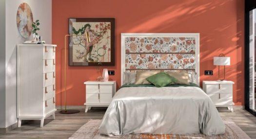 Dormitorio completo colonial
