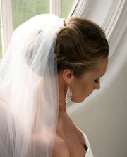 wedding veil styles heart of